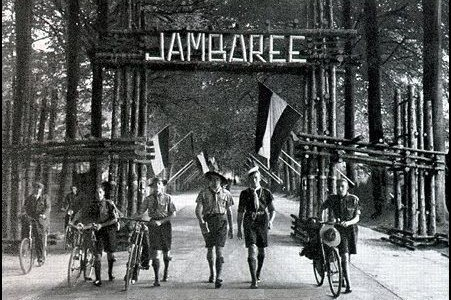 """Gateway to the 5th World Jamboree"" Boy Scouts of America, The National and World Jamboree in Pictures, 1937"