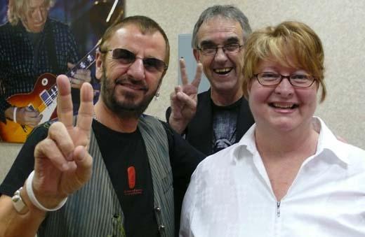 RIngo Starr, Ron Shock, Rhonda Shock