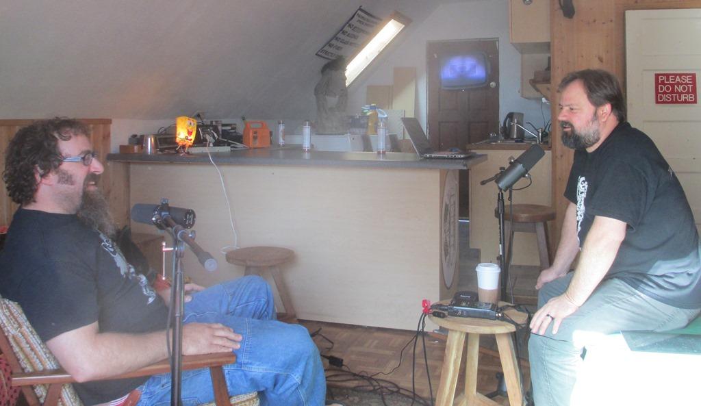 CJ and Dan at Winter's Green Room