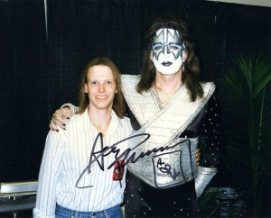 David Snowden and Ace Frehley